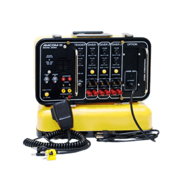 Chamber & Dive Control Communication Equipment