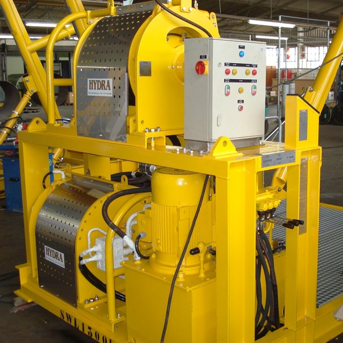 Offshore Single Drive Winches