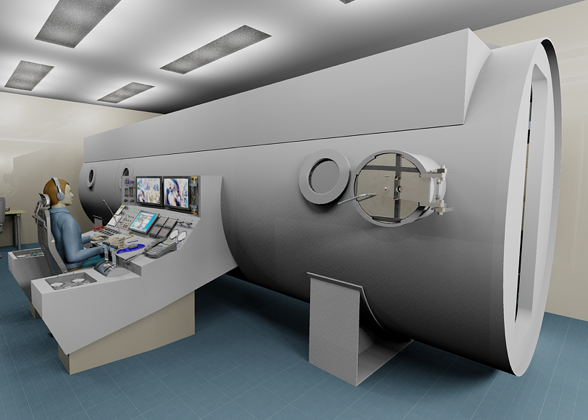 Hyperbaric Oxygen Treatment Chamber
