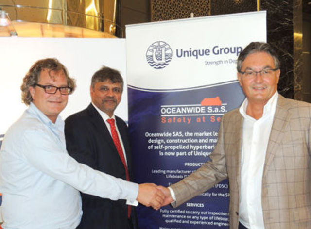 Unique Group acquires Oceanwide S.a.S.