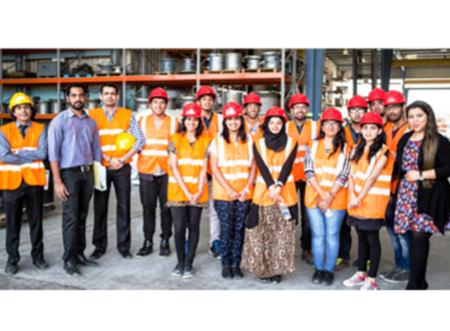 Industrial Visit by Students of Manipal University in Dubai