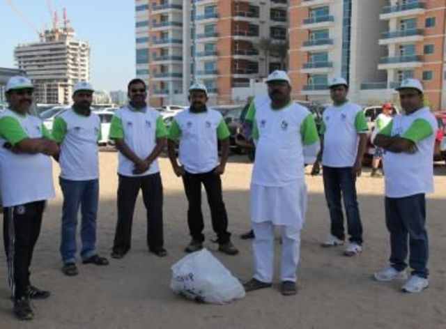 UMG Participates in the Clean Up The World 2014 Campaign