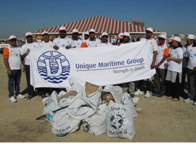 UMG Participates in the Clean Up The World 2013 Campaign