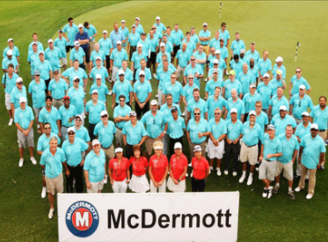 Unique Maritime Group Participates in McDermott's Golf Charity Tournament