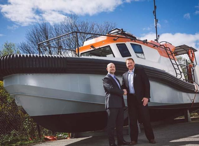 Unique Group delivers first ever built-for-purpose Daughter Craft to North Sea
