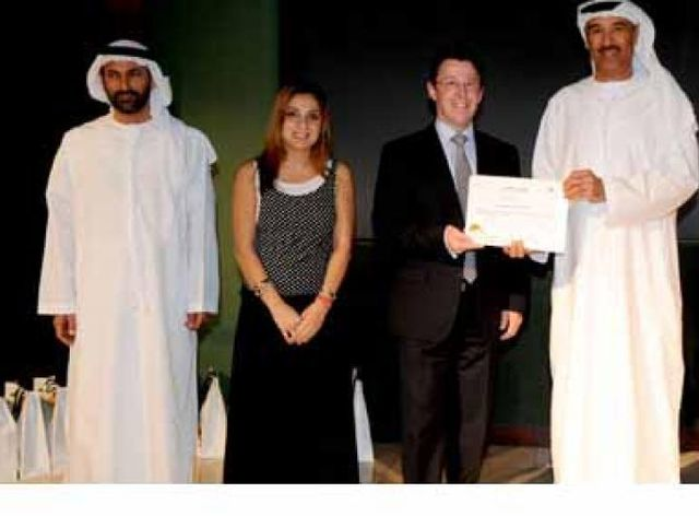 Dubai Municipality Awards Unique System FZE with a certificate of Appreciation