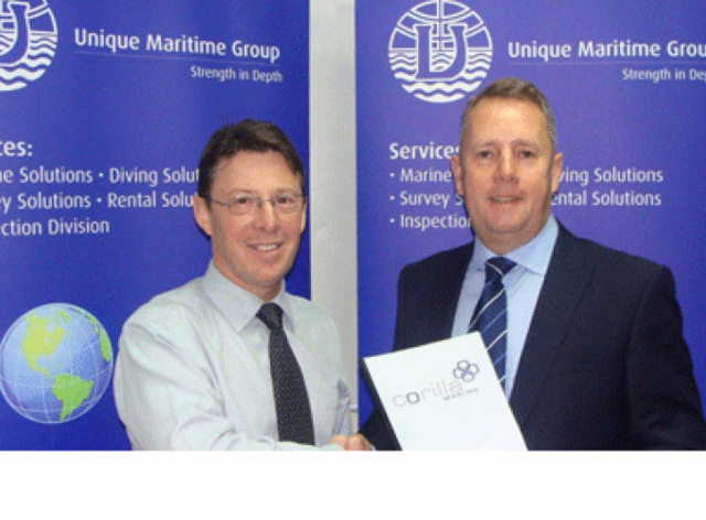 Corilla Plastics Appoint Unique Maritime Group as their Exclusive Sales and Service Distributor