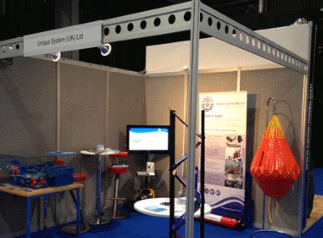 Unique System (UK) Ltd Exhibits at Subsea 2013