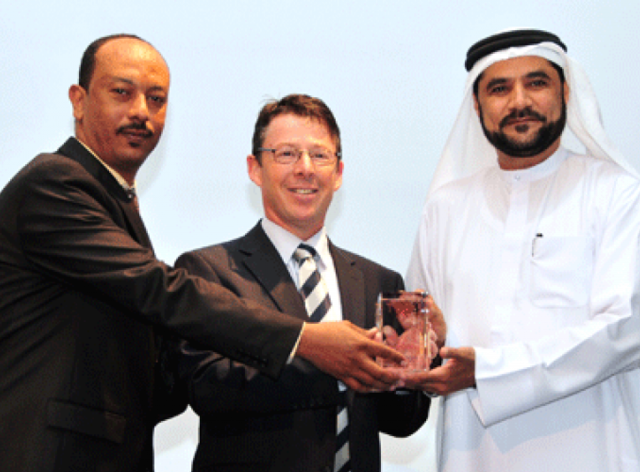 Unique Maritime Group is Awarded the Coveted Hamriyah TOP3 2012 Award