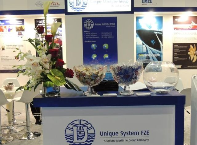 Unique System FZE Participates at the Seatrade Middle East Workboats 2013
