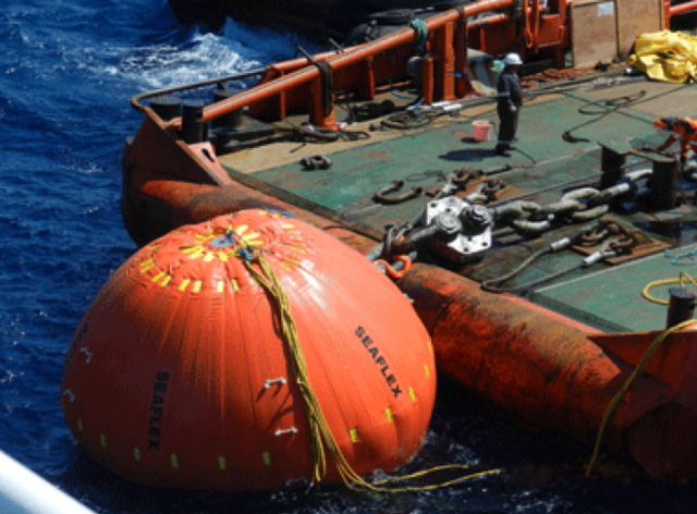 Unique Seaflex Facilitates Underwater Lift for Lundin FPSO Mooring Retrieval