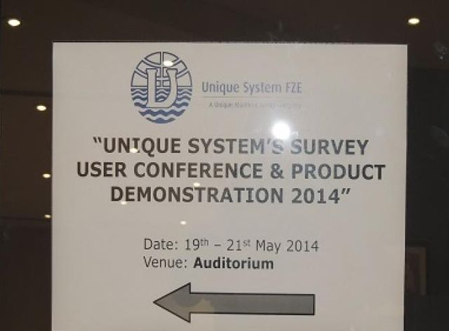 Survey User Conference & Product Demonstration 2014