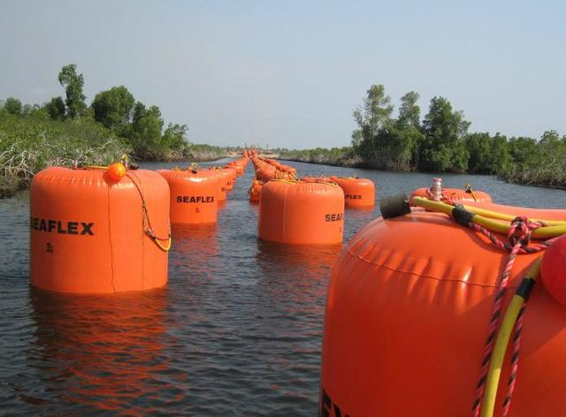Unique Seaflex Offers Free Trial of Pipelaying Buoyancy Modules