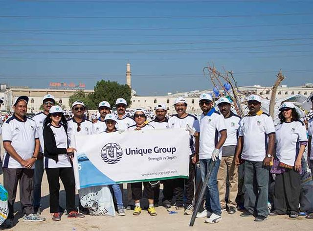 Unique Group Participates in the Clean Up The World 2016 Campaign