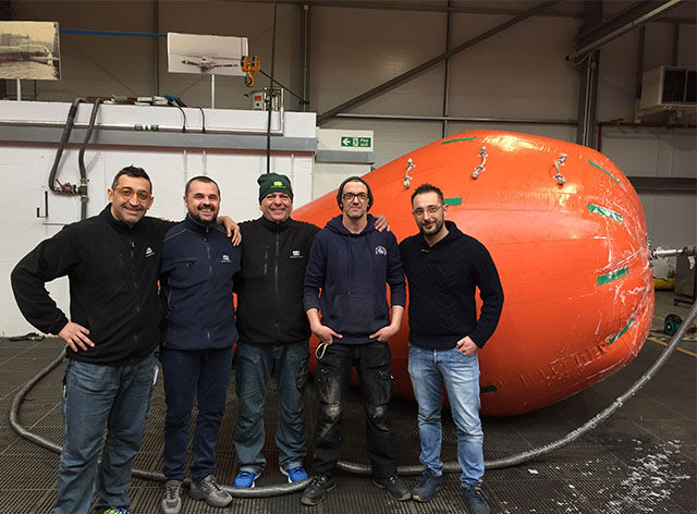 New Italian Waterbag Sales, Rental & Service Centre for Seaflex European Network