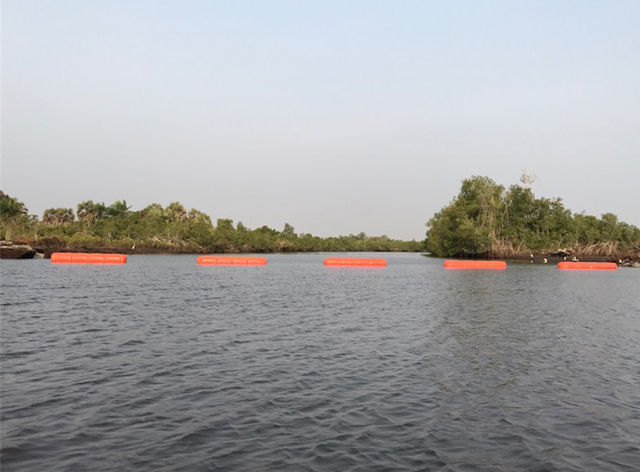 Seaflex successfully pulls new pipeline across Angolan Swamp