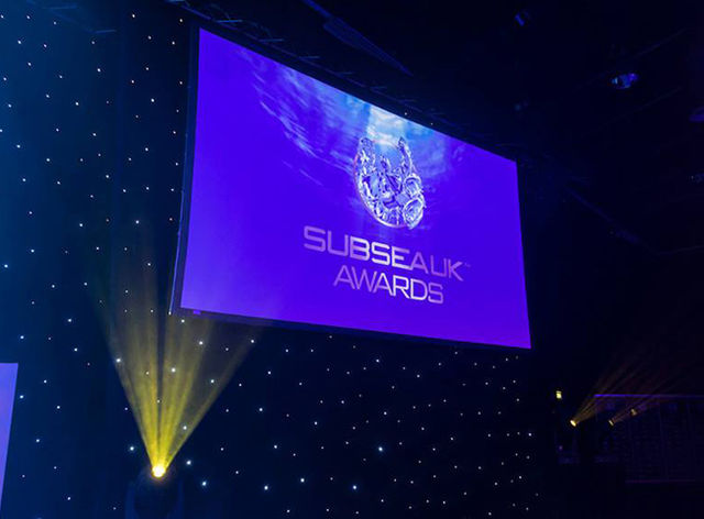 Subsea UK Awards Dinner 2018