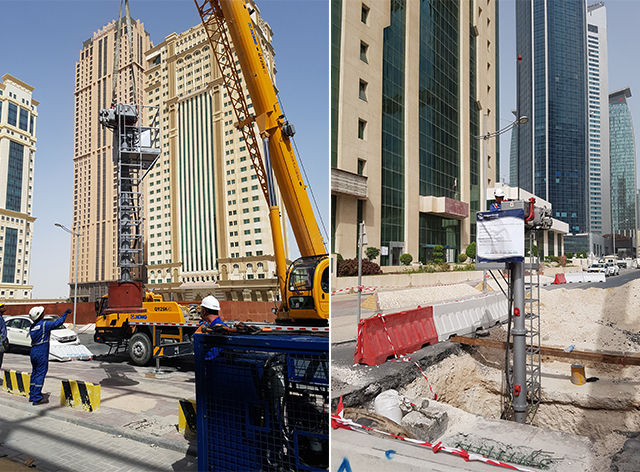 Unique Group Successfully Completes Line Stopping Job in Qatar