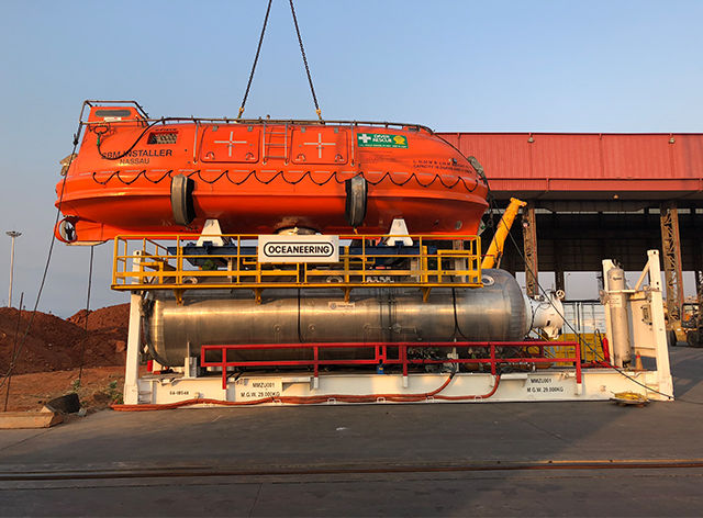 Unique Group successfully delivers HRF system to Oceaneering for operation in South-Central Africa