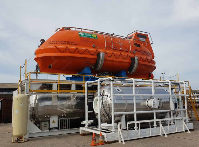 Unique Group delivers Classed HRF System to Kreuz Subsea in South East Asia
