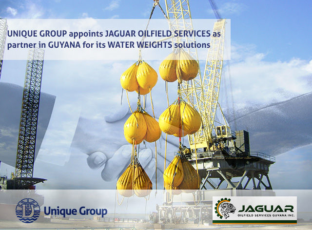 Unique Group Appoints Jaguar Oilfield Services as a Partner in Guyana for its Water Weights Solutions