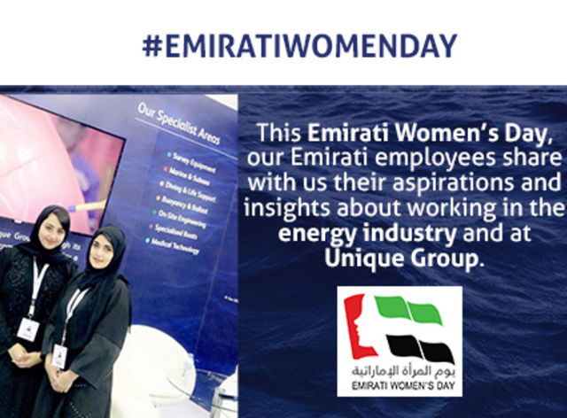 Celebrating Emirati women at Unique Group
