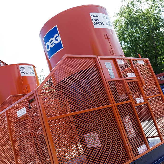Industrial Waste Management Compactor System | Action