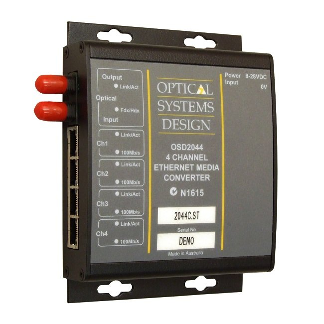 OV-FO-CONV Ethernet Media Converter