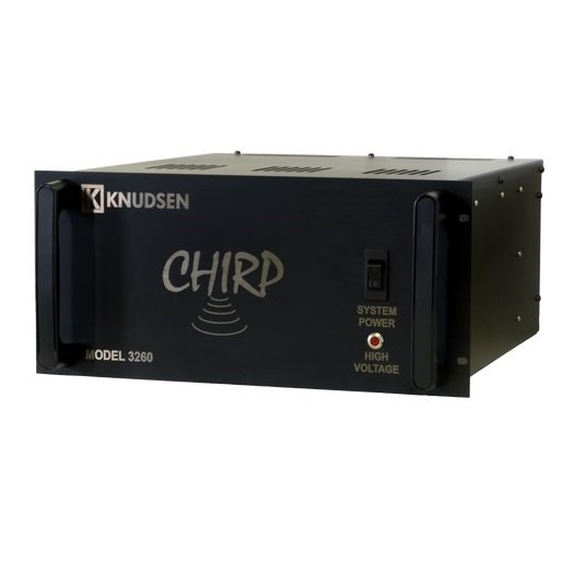Knudsen Chirp 3260 Echosounder and Sub Bottom Profiler