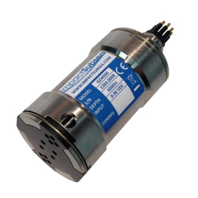 Impact Subsea ISD 4000 Depth and Temperature Sensor