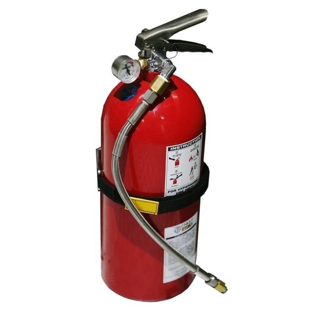 HYDRA 7L, Hyperbaric Fire Extinguisher With Bracket