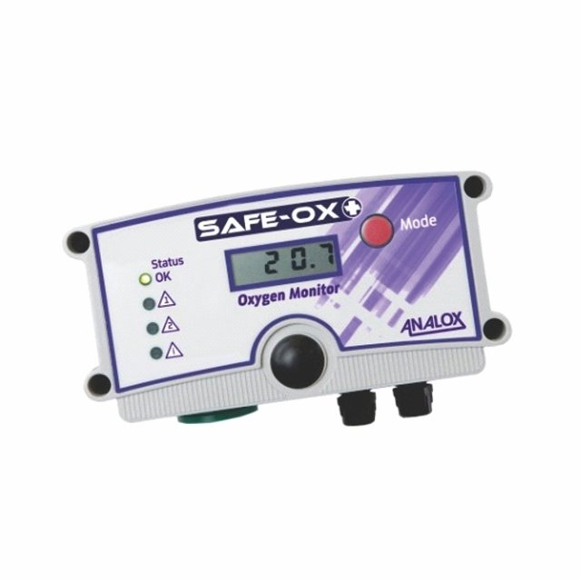 Analox Safe Ox+ Room O2 Analyser