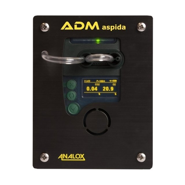 Analox ADM Aspida, Combined O2/CO2 Analyser