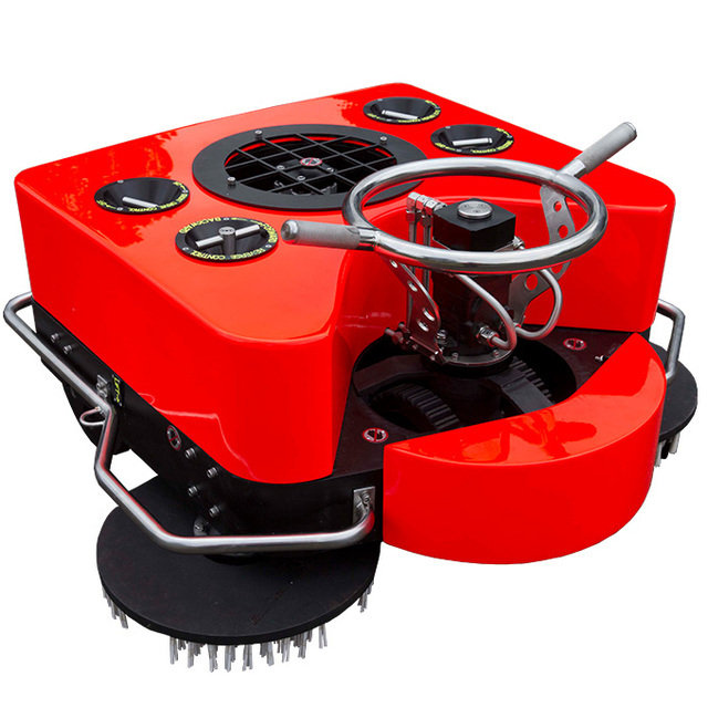 Underwater Grooming/Cleaning Machine