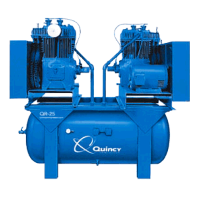 Quincy QR-25 -  390, Two-Stage Basic Compressor