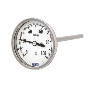 Bi Metal Model 54, 80mm Dial Temperature Gauge