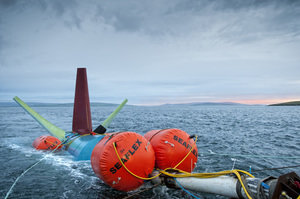 Marine Renewables Installation Buoyancy
