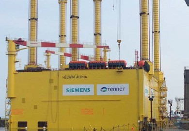 Helwin Alpha Self-Erecting Offshore Transformer Platform