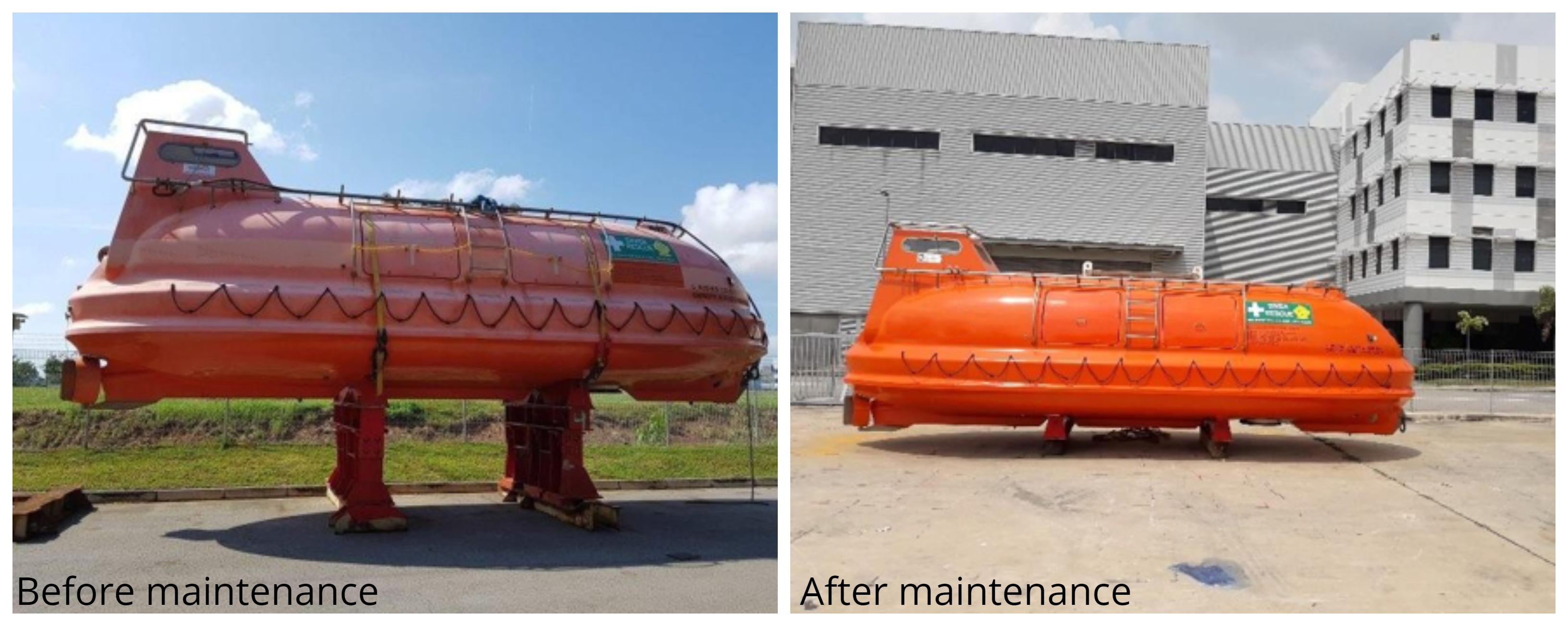 The SPHL before and after the maintenance