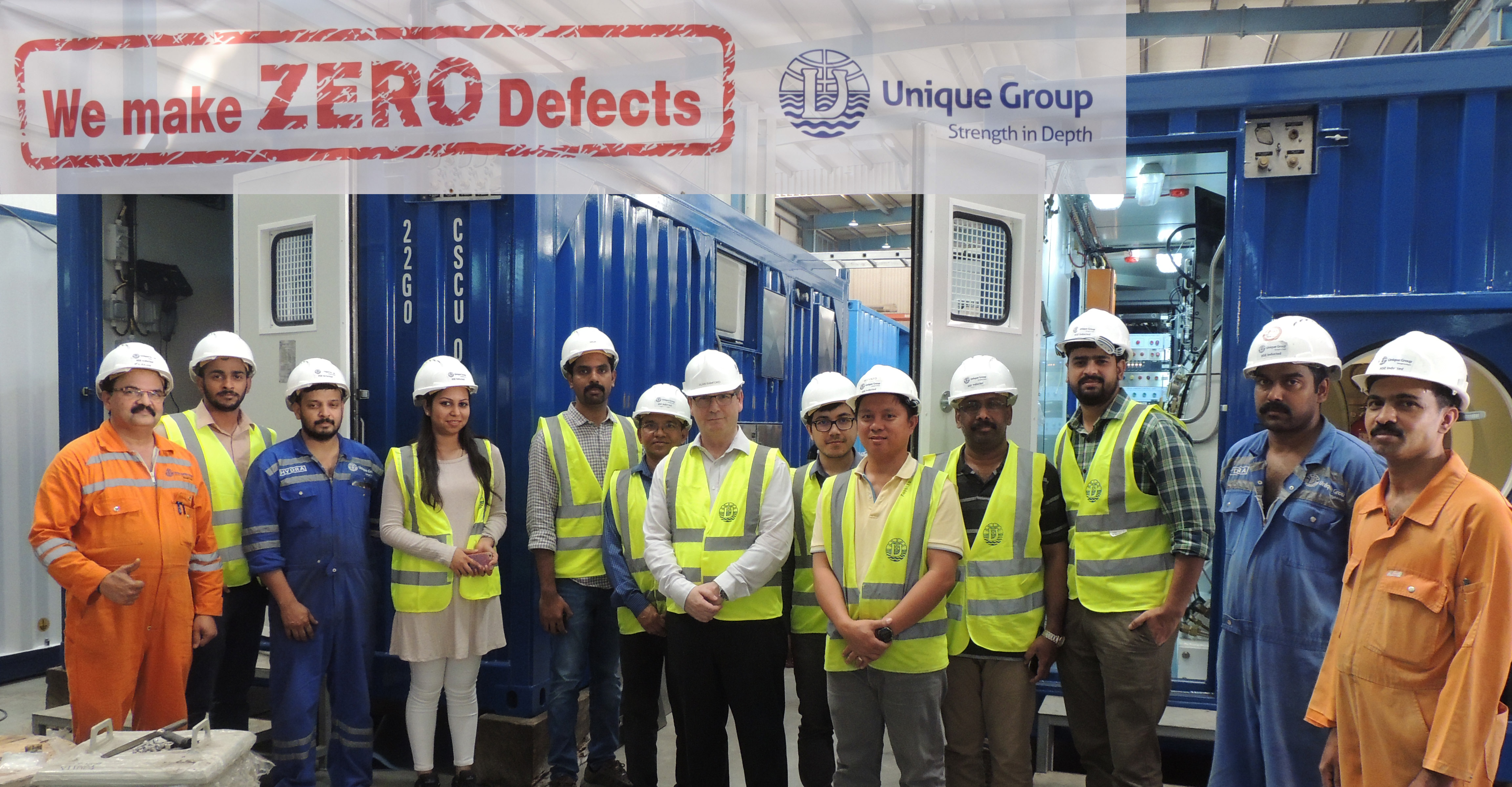 Unique Group completes timely delivery of its 10th bespoke